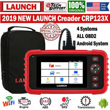 LAUNCH X431 CRP123X Auto OBD2 Scanner ABS SRS Engine Diagnostic Tool Code Reader