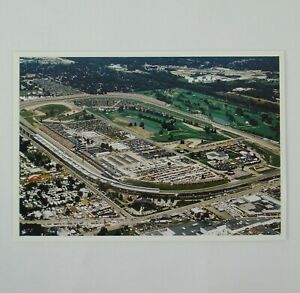 Indianapolis Motor Speedway Track Collector Postcard Aerial View Indy 500 Brick
