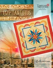 Egyptian Lotus Foundation Paper Pieced Quilt Pattern by Judy Niemeyer New