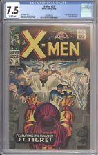 X-Men #25 CGC 7.5 - Origin & 1st El Tigre - Roy Thomas - Jack Kirby Cover Art
