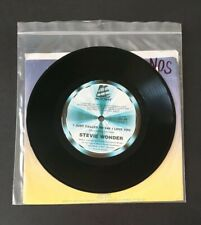 """STEVIE WONDER -'I Just Called To Say I Love You' 1984 7"""" Vinyl Single Record NOS"""