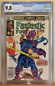 FANTASTIC FOUR #243 CGC (9.8) WP * NEWSSTAND EDITION * GALACTUS BATTLE COVER!!