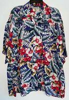 Aloha Vintage Hawaiian Shirt Men's Size XL MADE IN HAWAII