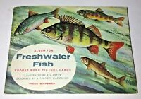 Vintage Album Freshwater Fish Brooke Bond Tea Coffee Collectible 1960 Complete