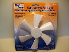 "RV- 6"" Replacement Fan Blade CCW 1/8"" Round Center Hole(65483)"