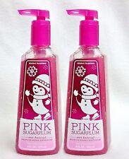 2 Bath & Body Works PINK SUGARPLUM Deep Cleansing Antibacterial Soap