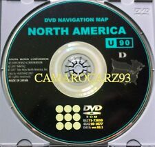 Only 2010 2011 Toyota Sequoia / Tundra / 4Runner Navigation DVD Map U.S / Canada