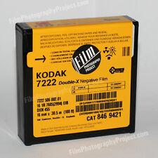 16MM FILM - KODAK DOUBLE-X 7222 - Kodak Factory Fresh - 100 FT (30.5M)