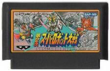 """FAMICOM NES FC""""SUPER ROBOT TAISEN 2nd""""WARS GUNDAM JAPAN"""