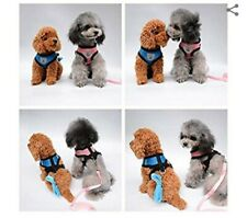 Mesh Dog Harness with Leash Vest Pet Puppy Breathable Adjustable