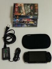 Sony PSP-1001 w 5 games, power cord, cover