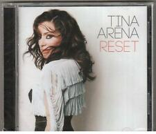 CD TINA ARENA RESET New & Sealed You Set Fire To My Life / Love You Less