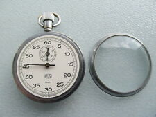 Cronómetro reloj de bolsillo de umf Ruhla pocket watch