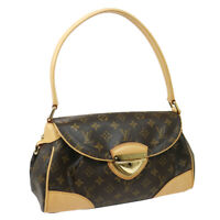 LOUIS VUITTON BEVERLY MM SHOULDER BAG SR4067 PURSE MONOGRAM M40121 AUTH 36110