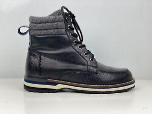 DKNY Winston Jack Mens Black Leather Ankle Boot UK Size 6