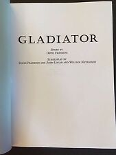 Gladiator (2000) Screenplay-Ridley Scott, Russell Crowe-Won Best Picture Oscar