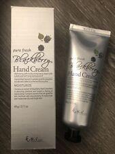 K.U.C Pure Fresh Blackberry Rough Skin Moisturizing Hand Cream 2.11 oz.