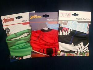 Marvel Avengers Neck Gaiter Face Mask Motorcycle Hunting Outdoor Sports