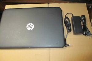 HP 15-g013dx AMD 2GHz Quad-Core R5 APU/ 4GB/ 750GB Notebook/Laptop w/Battery+AC