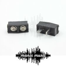 2x Speaker Jack Plugs for Vintage AKM 003 Pioneer AKAI ALLIED Amplifier Receiver