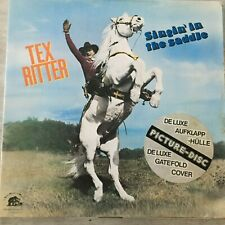 TEX RITTER: Singin' in the saddle (Bear Family BDP 15231 /Picture Disc/FOC/ NM)