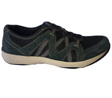 Earth Origins 8.5M Skye Samira Blue Leather Upper Slip-On Walking Shoes EUC!