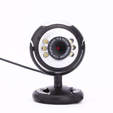 12.0M USB 6 LED Night Vision Webcam Web Camera with Mic for Desktop PC Laptop