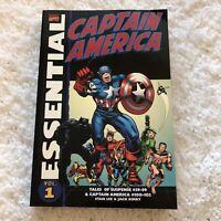 Essential Marvel Comics Captain America Vol 1 2008 Paperback Jack Kirby Stan Lee