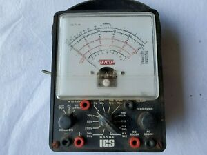 Vintage EICO Range ICS Electric Volt Meter UNTESTED, SOLD AS IS Exact item shown