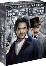 Sherlock Holmes 1 + Sherlock Holmes 2 Jeu d'ombres COFFRET DVD NEUF SOUS BLISTER
