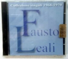LEALI FAUSTO COLLEZIONE SINGOLI 1968 - 1970 CD SEALED