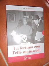 DVD N° 34 IL TEATRO DI EDUARDO DE FILIPPO LA FORTUNA CON L'EFFE MAIUSCOLA