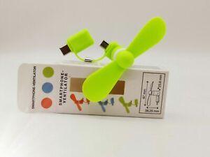 Mini Ventilator Handy  Smartphone  USB Cellphone Fan