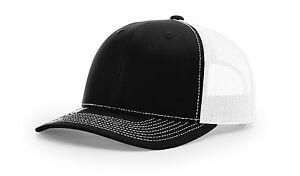 112 Richardson Trucker Ball Cap Mesh Hat Adjustable Snapbacks 80 Color Options