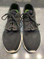 Nike Roshe Run Black/Anthracite Sail/White FlyKnit Men's Size 9 Running Athletic