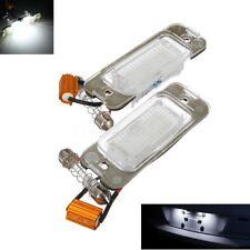 2x Error Free LED License Plate Light For MERCEDES W164 ML 63 320 550 2006-2009