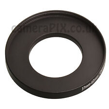 37mm to 62mm Male-Female Stepping Step Up Filter Ring Adapter 37-62 37mm-62mm UK