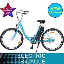 2018 YT 26'' Wheel 350W Electric Beach Cruiser Bike Bicycle Battery