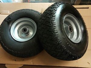 Countax front wheels