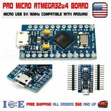 Pro Micro ATmega32U4 Board 5V 16MHz Compatible with Arduino Pro Micro ATmega32U4