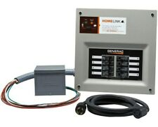 Generac HomeLink Pre-wired Manual Transfer 30 Amp Switch W/ Power Inlet Box