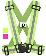 The Tuvizo Reflective Vest Provides High Visibility Day & Night for Running CYC