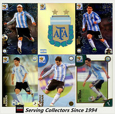 2010 Panini South Africa World Cup Soccer Cards Team Set Argentina (10)