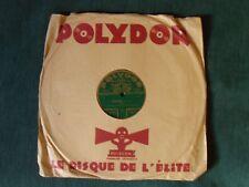 "PAUL GODWIN : Puppenfee / Estudiantina 78 rpm 12"" 78T 30 cm French POLYDOR 19709"
