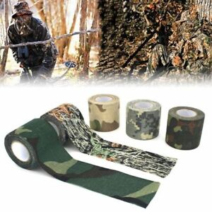 Hunting Camouflage Tape Bandage Wrap Rifle Gun Waterproof Adhesive Accessories