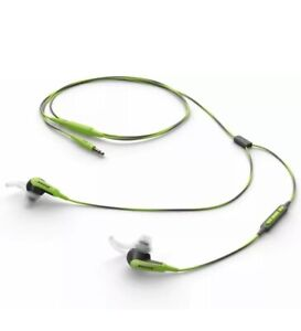 Bose SoundSport In-Ear Headphones -W/ Microphone-Green/Android ONLY -New