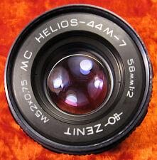 Helios-44M-7 2/58 Lens M42 SLR Canon Pentax Praktica Zenit BIOTAR COPY 8 blades