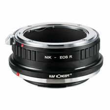 Adaptador de montaje de la lente para Nikon F/AI/AIS// AF-S Monte D Lente Canon EOS R Cámara