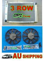 GPI Aluminum Radiator + fan for Holden Statesman WB V8 1980-1985 81 82 83 84 85