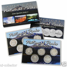 2010 National Parks State Quarters Uncirculated Set Philadelphia & Denver Mint